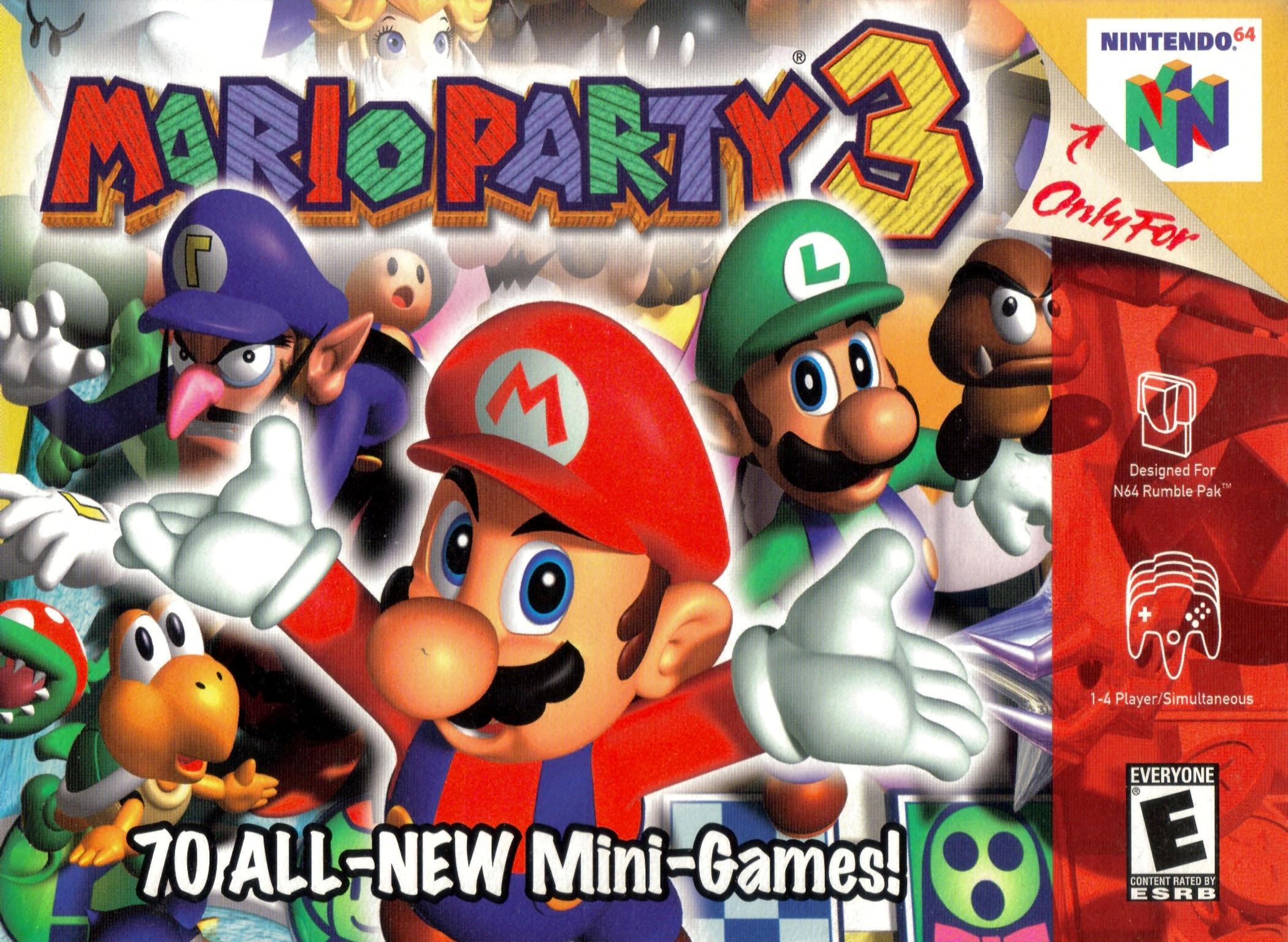 Mario Party 3 Nintendo 64 Game