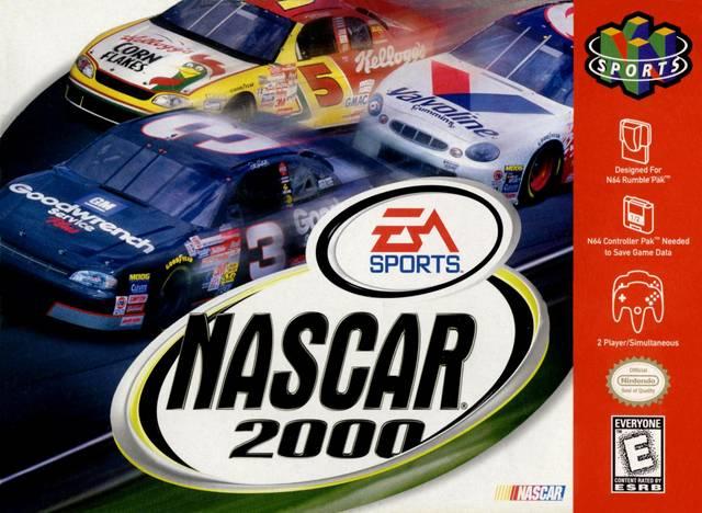 NASCAR 2000 Nintendo 64 Game