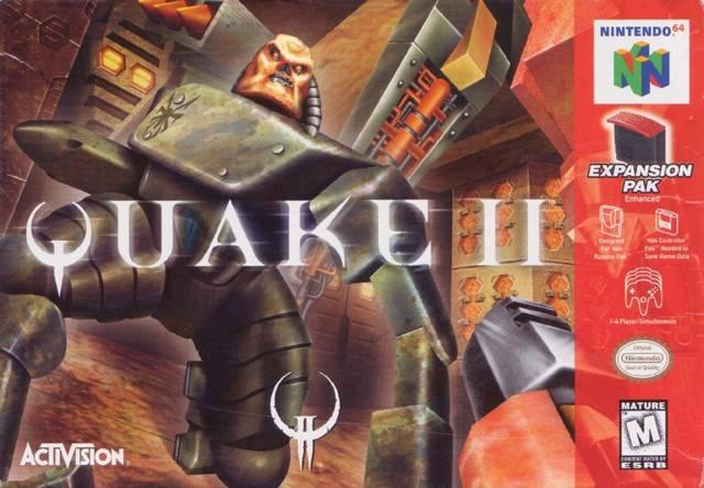 Quake II Nintendo 64 Game