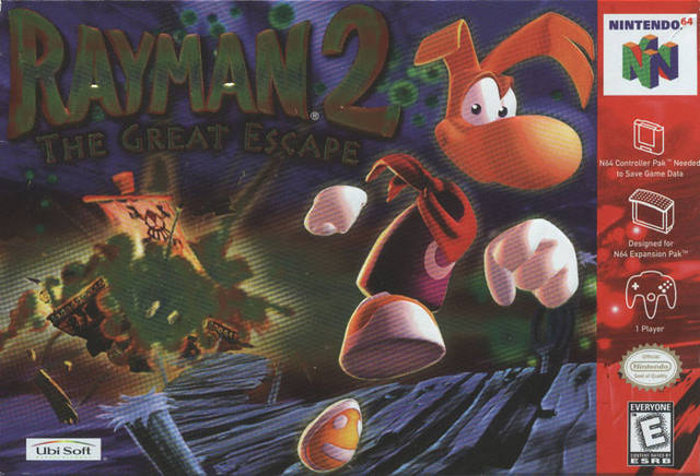 Image result for rayman 2 n64