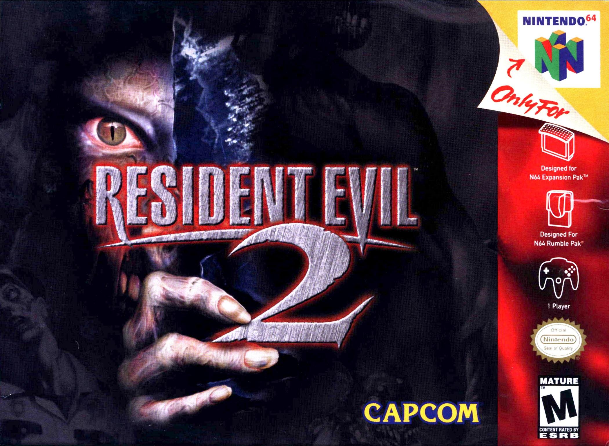 Resident Evil 2 Nintendo 64 Game