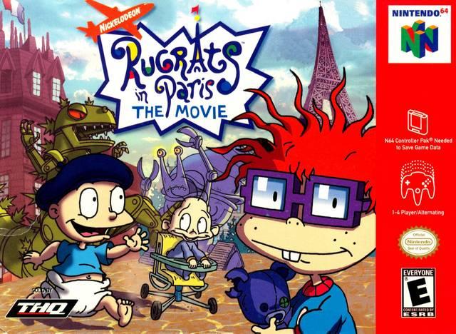 Rug Tas Dames : Rugrats in paris the movie nintendo game