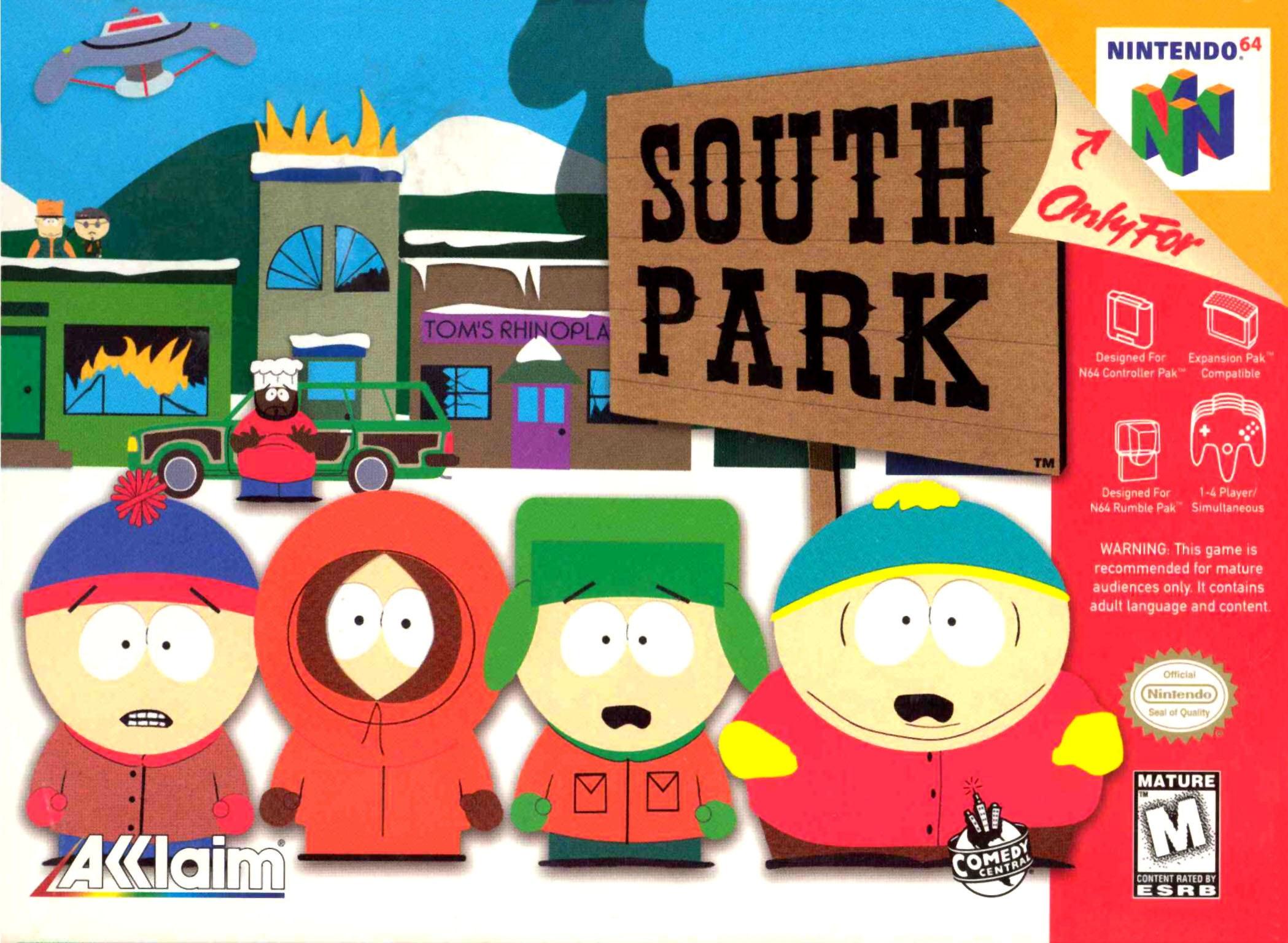 South Park Nintendo 64 N64 Game