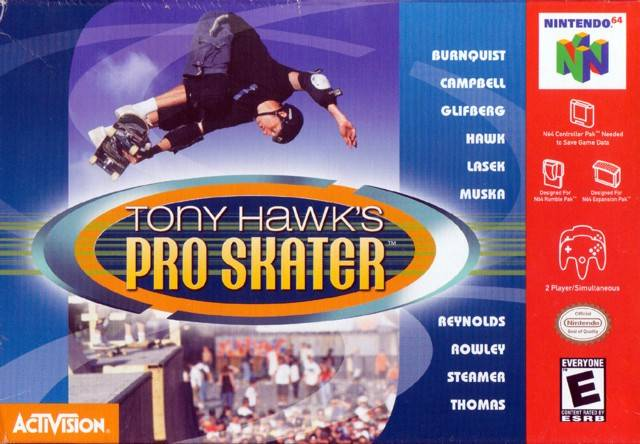 Image result for tony hawk n64