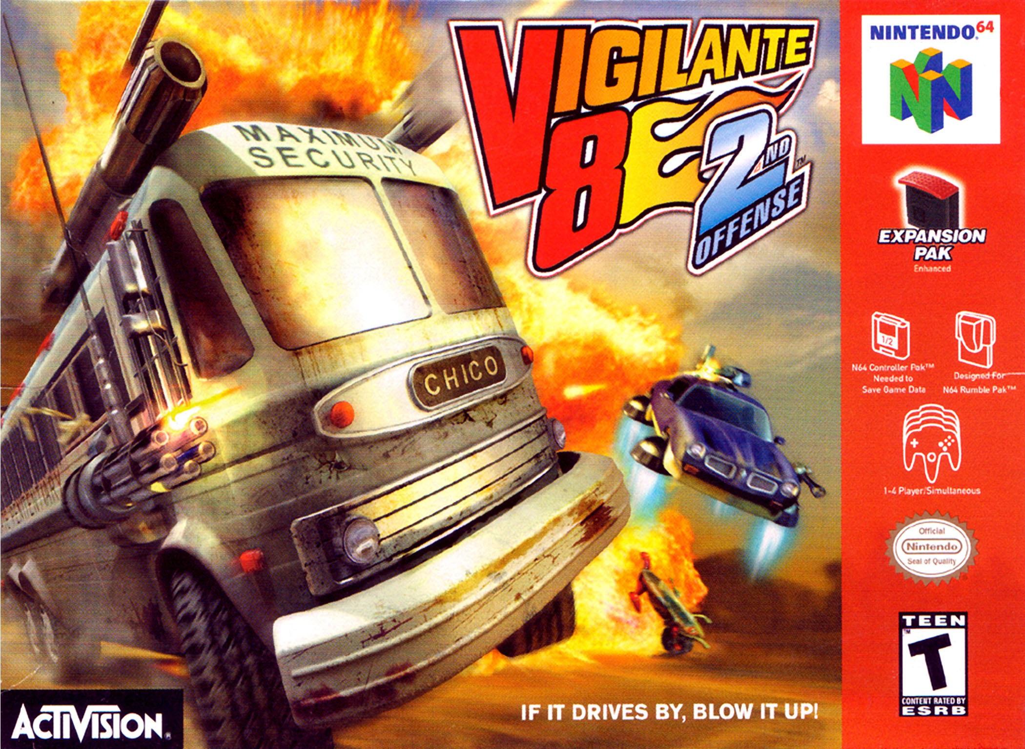 Vigilante 8: 2nd Offensehack version
