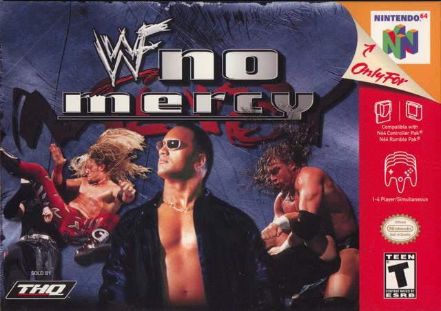 Wwf No Mercy Nintendo 64 Game