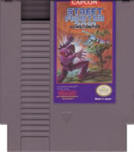 Street Fighter 2010 Nes Nintendo Game