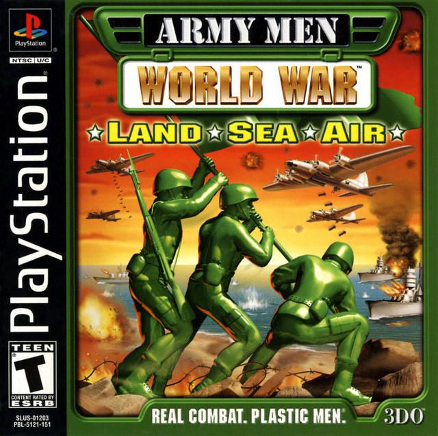 army men world war ps1
