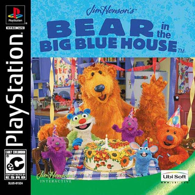 Bear In The Big Blue House Sony Playstation