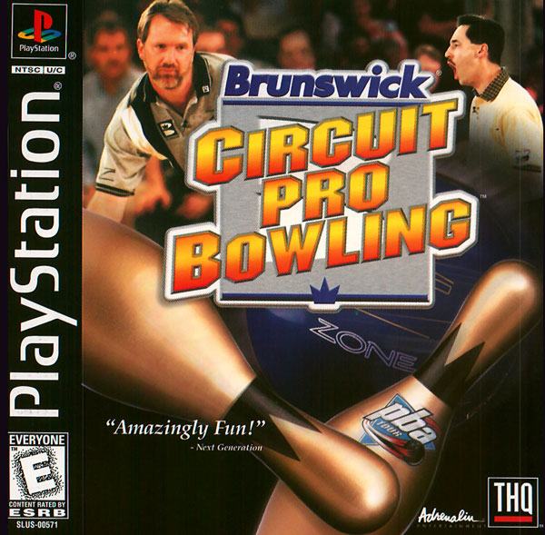 Brunswick Circuit Pro Bowling Sony Playstation