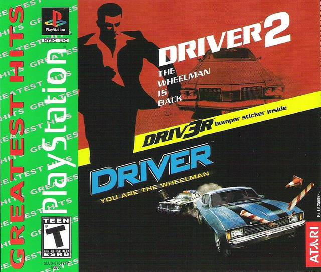 Driver 1 and 2 Compilation Sony Playstation