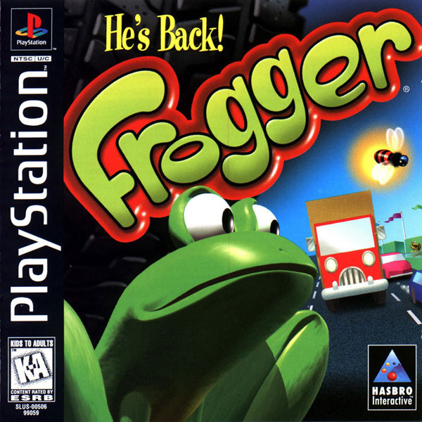 Playstation 1 Games On Ps4 : Frogger sony playstation