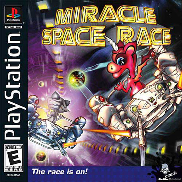Miracle Space Race Sony Playstation