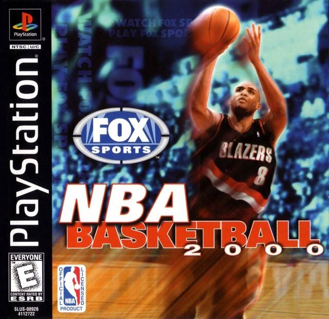 NBA Basketball 2000 Sony Playstation