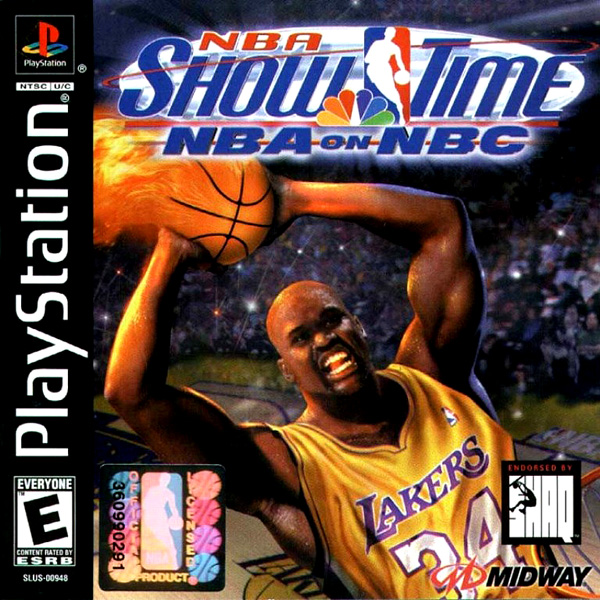 NBA Showtime NBA On NBC Sony Playstation