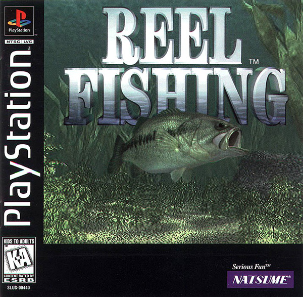Reel fishing sony playstation for Reel fishing game