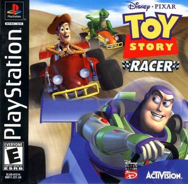 Toy Story 1 Games : Toy story racer sony playstation