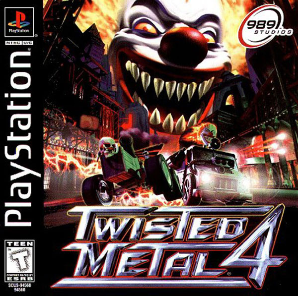 twisted metal 4 sony playstation