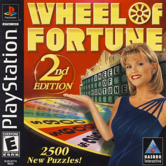 Wheel of fortune (playstation) 2nd edition