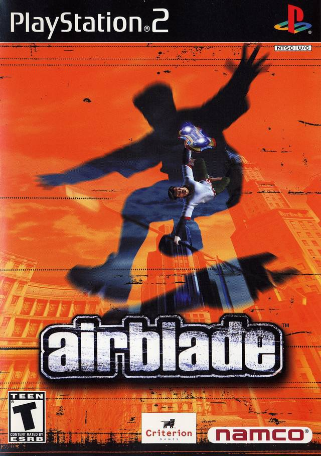 Airblade Sony Playstation 2 Game