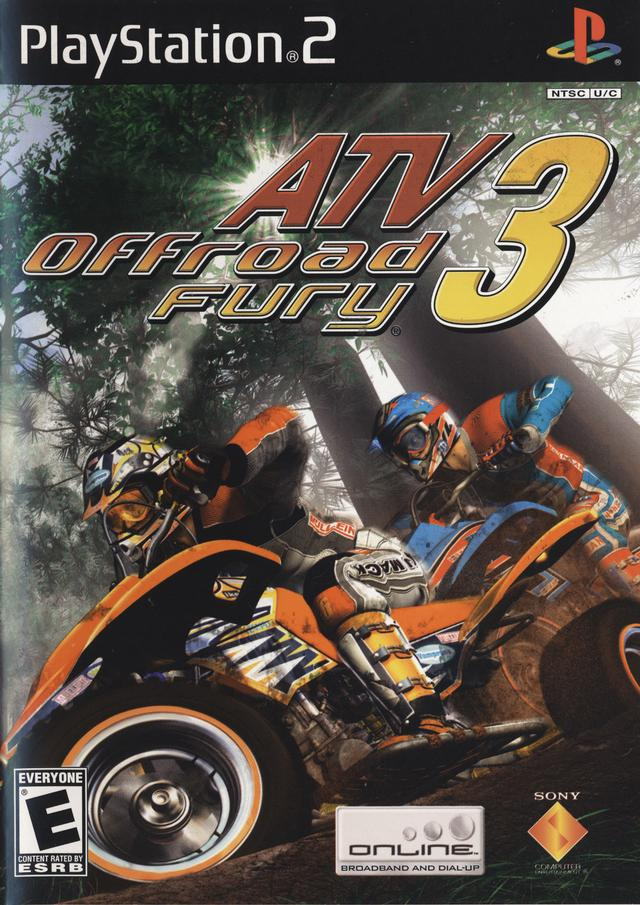 ATV Offroad Fury 3 Sony Playstation 2 Game