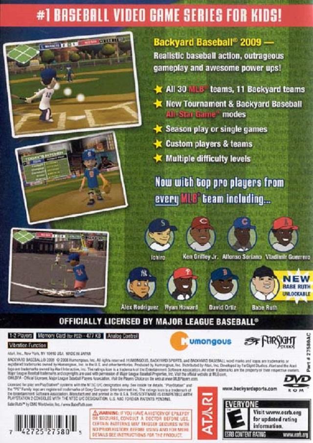 Backyard baseball 2001 free