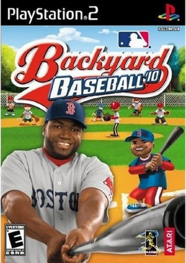 backyard baseball 39 10 sony playstation 2 game