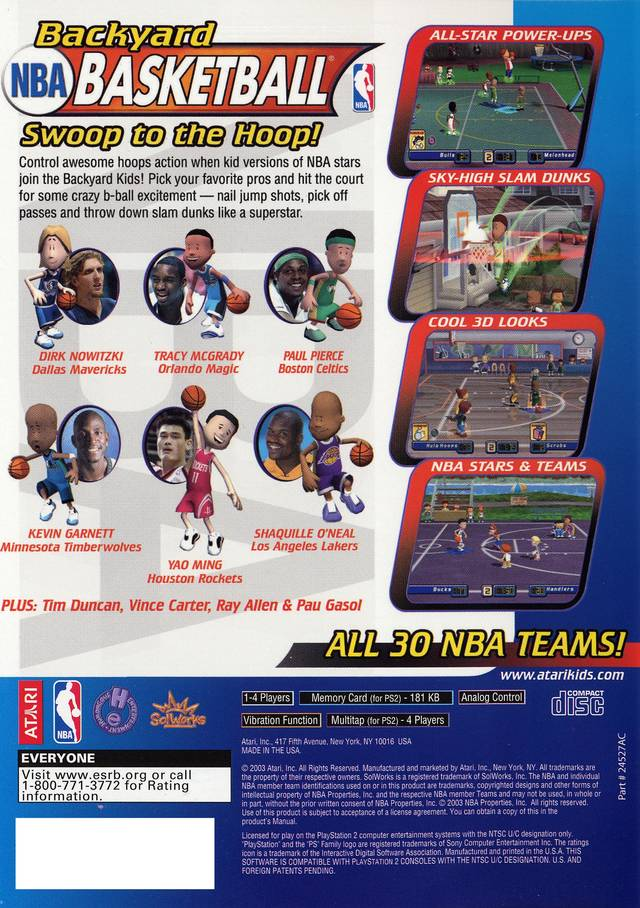 Backyard Basketball Ps2 - Backyard Basketball Ps2 Outdoor Goods