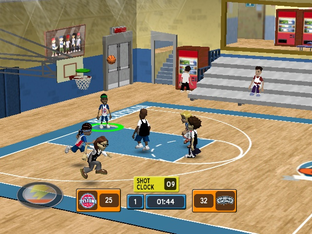 Backyard Basketball 2007 Image 3 - Backyard Basketball 2007 Sony Playstation 2 Game