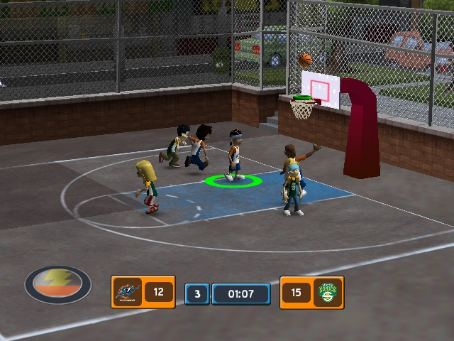 backyard basketball 2007 sony playstation 2 game