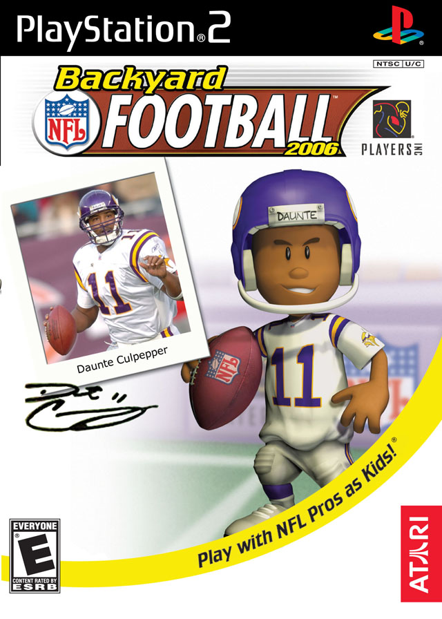 Backyard Football Sony Playstation 2 Game