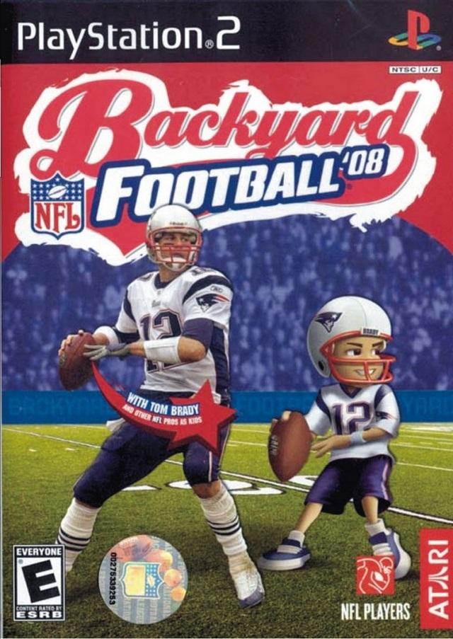 backyard football 08 sony playstation 2 game