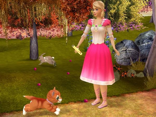 Barbie in the 12 dancing princesses sony playstation 2 game - Barbie 12 princesse ...