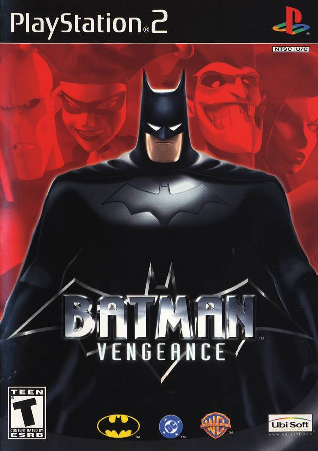 Batman Vengeance Sony Playstation 2 Game