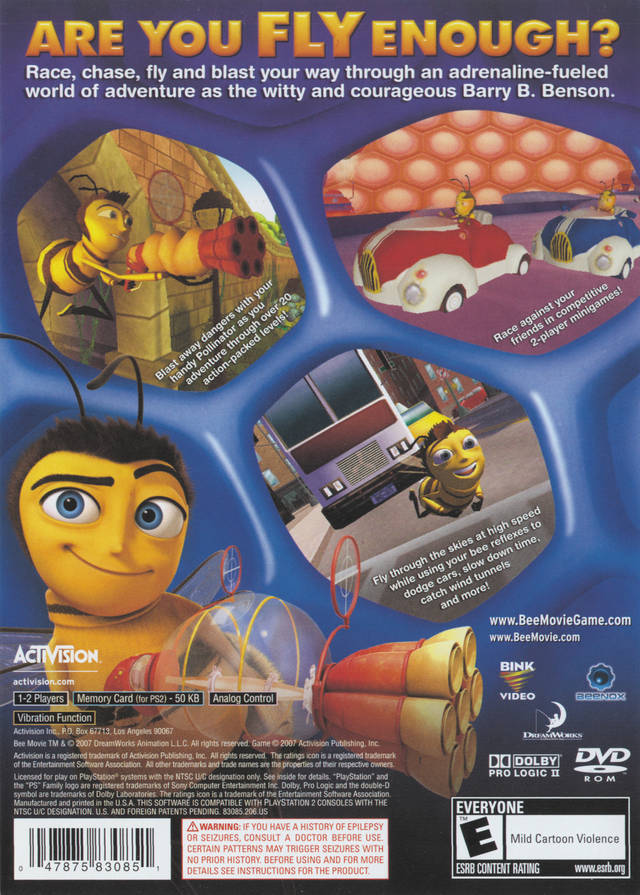 Movie Games For Ps3 : Bee movie game sony playstation