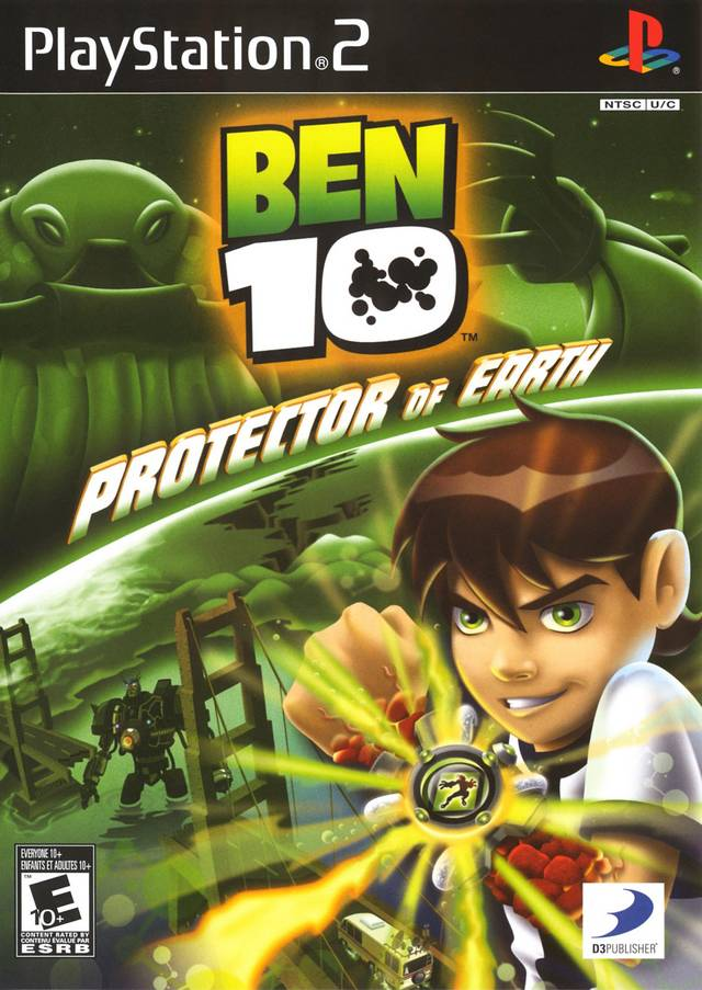 Ben 10™: protector of earth game | ps2 playstation.