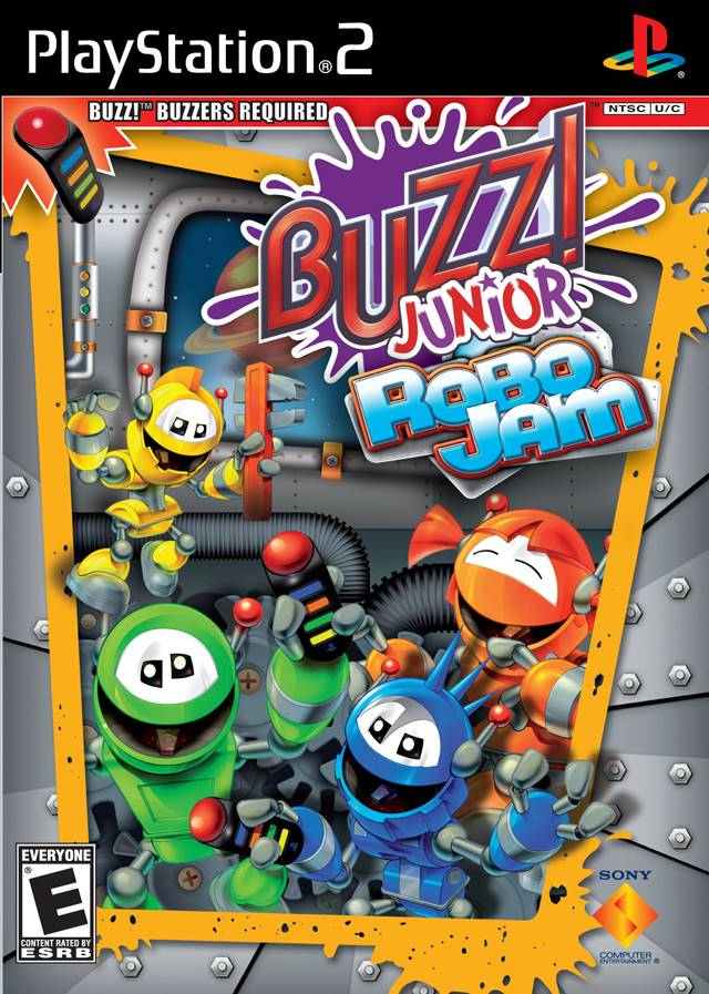 Buzz! Junior: Robo Jam Sony Playstation 2 Game