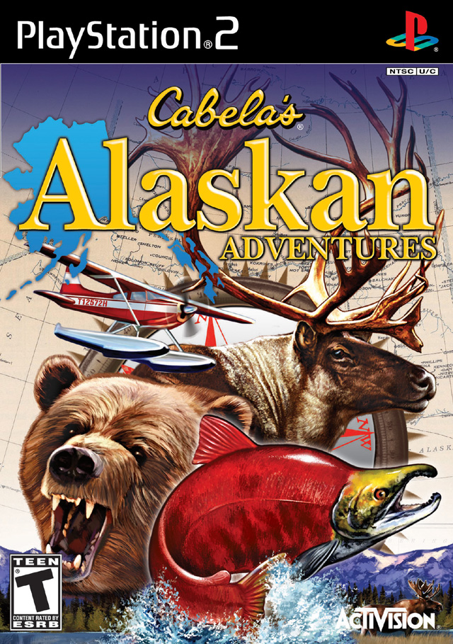 Cabela 39 S Alaskan Adventures Sony Playstation 2 Game