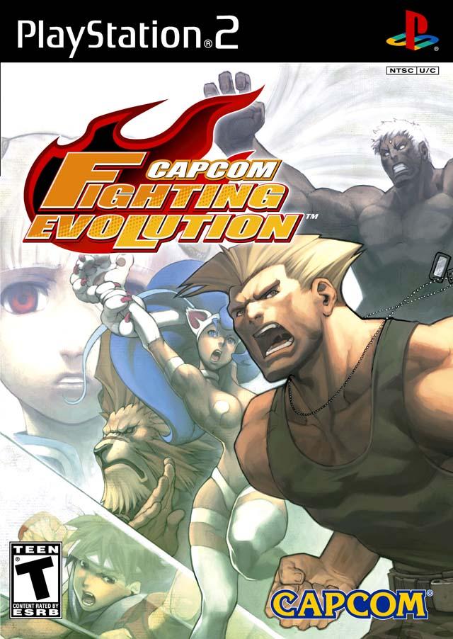 Capcom Fighting Evolution Sony Playstation 2 Game