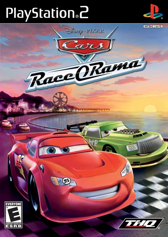 Cars Race O Rama Sony Playstation 2 Game