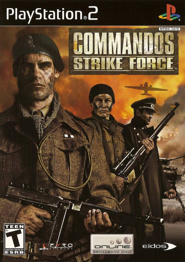 Commandos Strike Force Sony Playstation 2 Game