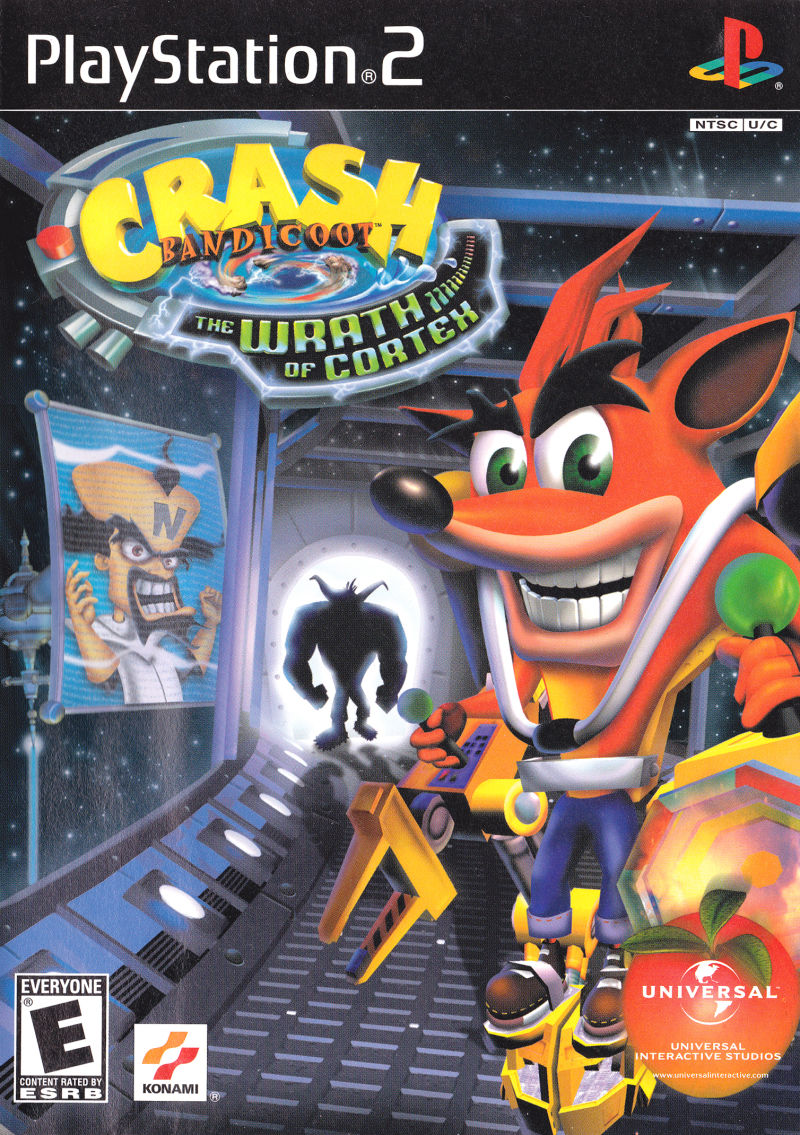 Crash Bandicoot Wrath Cortex Sony Playstation 2 Game