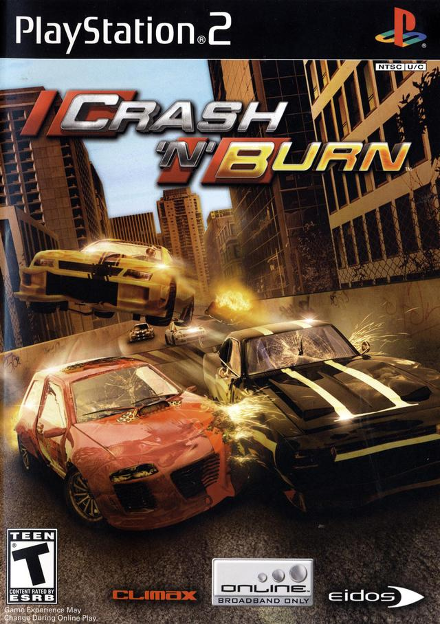 Playstation 2 crash