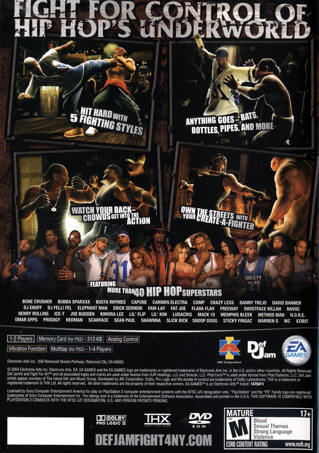 Play def jam fight for ny on xbox 360.