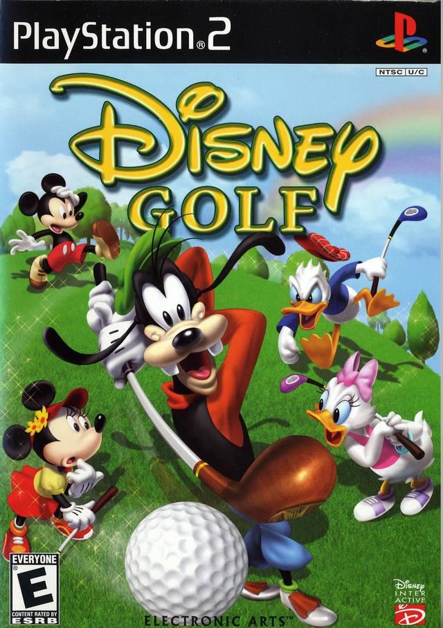 Disney Golf Sony Playstation 2 Game