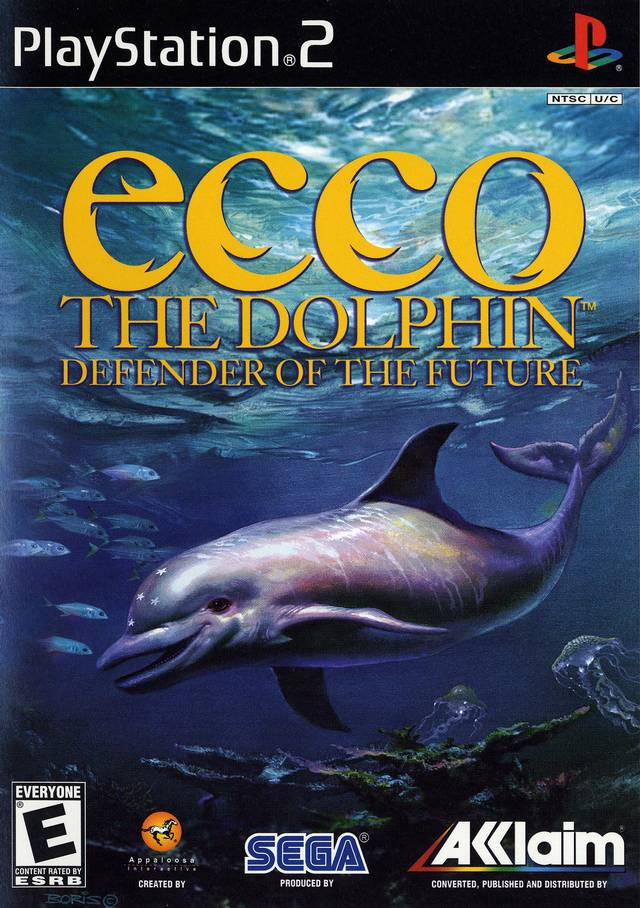 ecco the dolphin defender of the future sony playstation 2 game. Black Bedroom Furniture Sets. Home Design Ideas