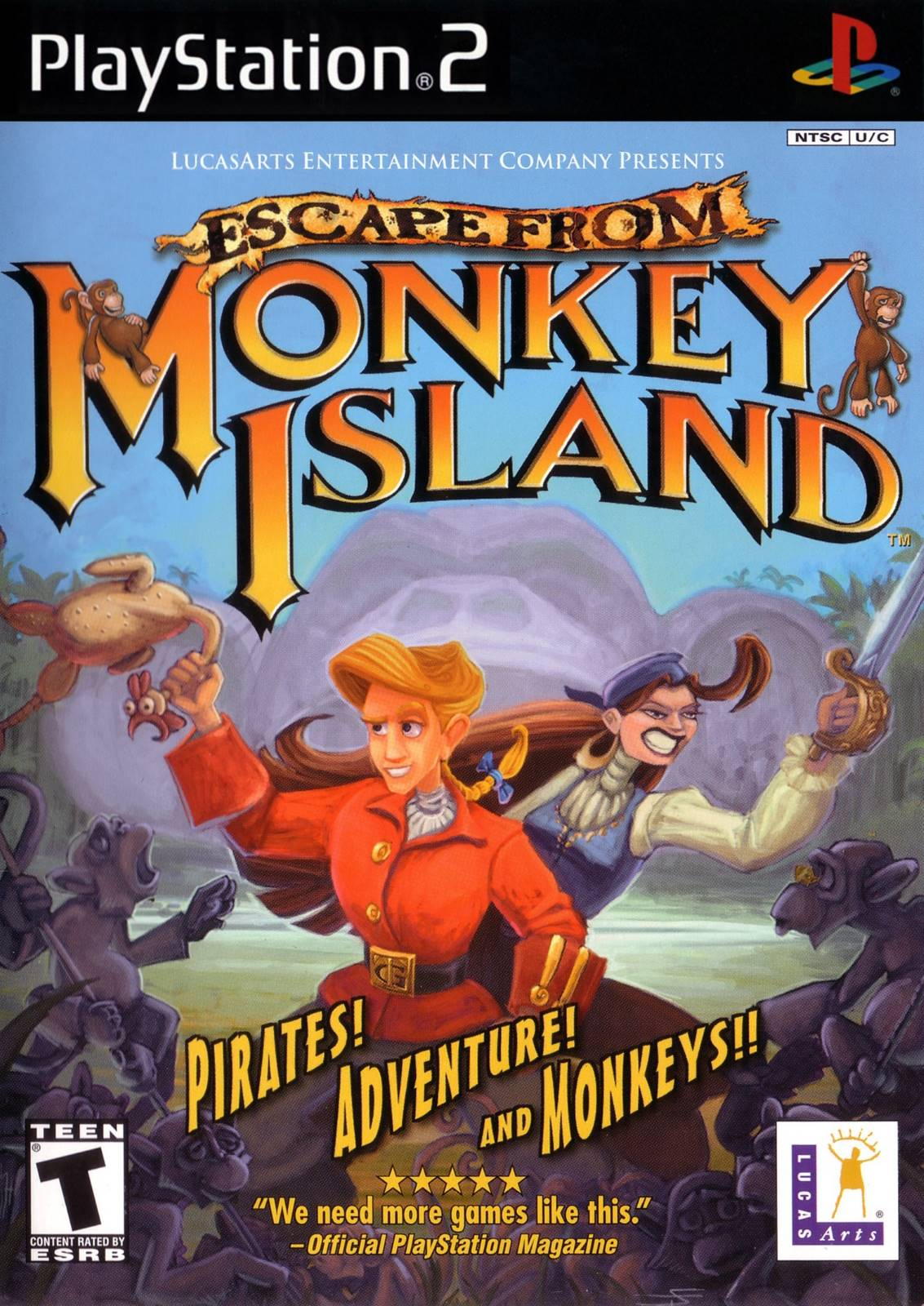 Escape From Monkey Island Ps