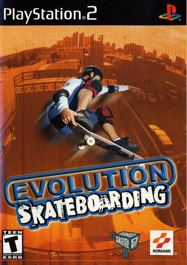 Evolution Skateboarding Sony Playstation 2 Game