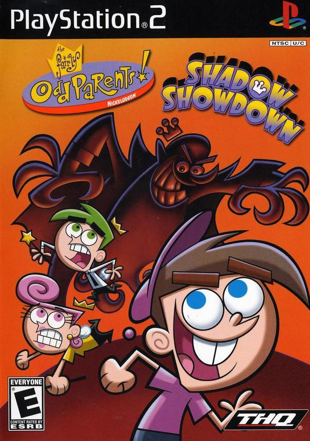 fairly odd parents shadow showdown sony playstation 2 game