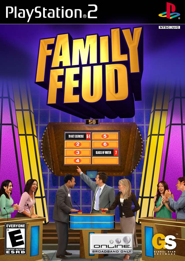 Family Games For Ps3 : Family feud sony playstation game